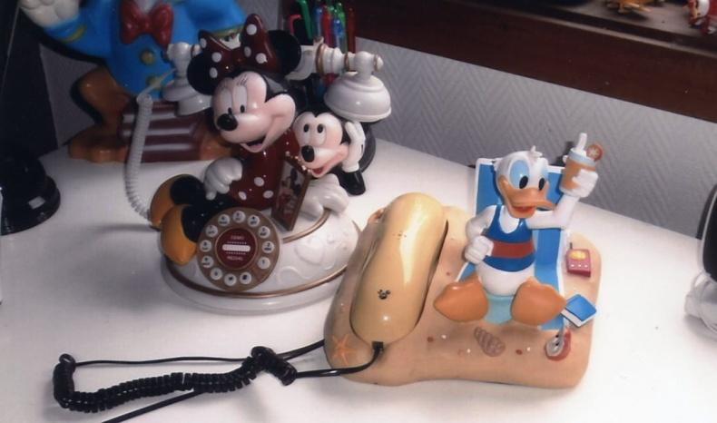Walt Disney telefoner