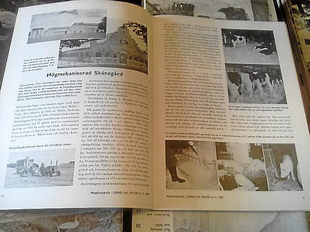 Maskinteknik i Jord och Skog 1950-1963