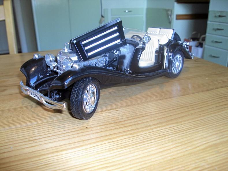 1:18 MERCEDES BENZ 500 K Roadster -36