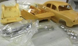 Kaiser 1953 plastbyggsats
