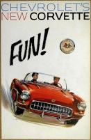 Broschyr Chevrolet Corvette 1957
