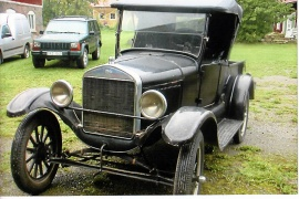 T-Ford pickup series 9