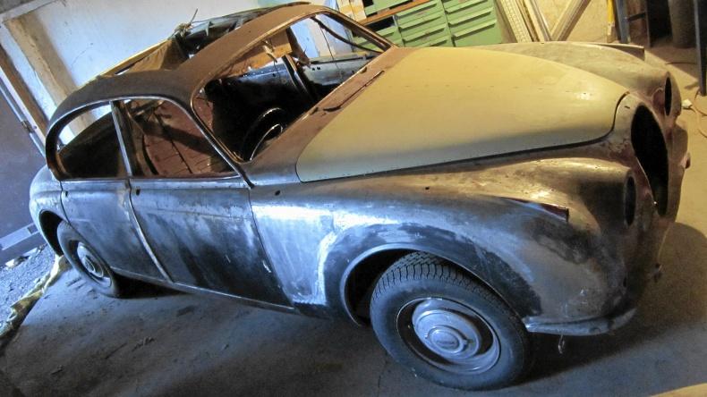 Renoveringsobjekt Jaguar MkII 2.4