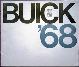 Broschyr Buick 1968 i storformat 76 sidor