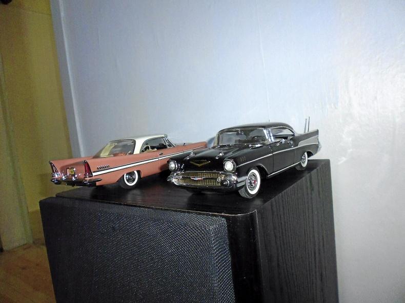 1957 Chevy Bel Air / 1957 Chrysler New Yorker
