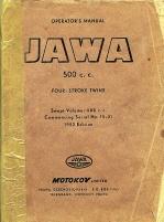 JAWA 500 c.c.