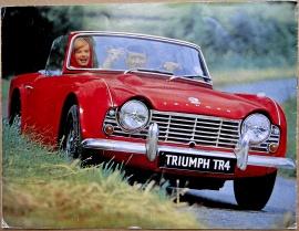 Broschyr Triumph TR4