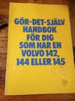 VOLVO GÖR DET SJÄLVHANDBOK 142 och 145
