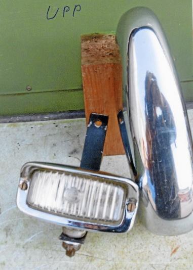 Horn och lampa