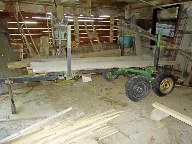 Skogsvagn mindre Traktor