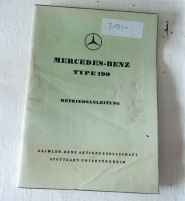 Mercedes-Benz type 190 litteratur