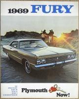 Broschyr Plymouth Fury 1969 i storformat