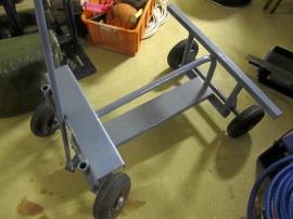 Vagn med gummihjul