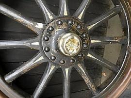 Träekerhjul Buick 1920-tal