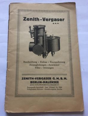 Zenith-Vergaser