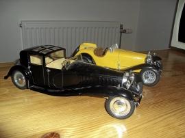 1:18 Bugatti Royale -30 + Alfa 2300 Spider - 32