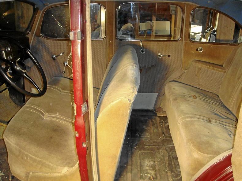 Hudson Terraplane Sedan, 1937