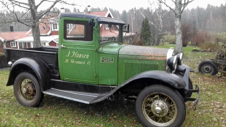 A-ford pickup