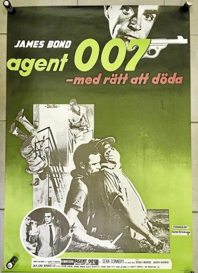 Filmaffisch James Bond