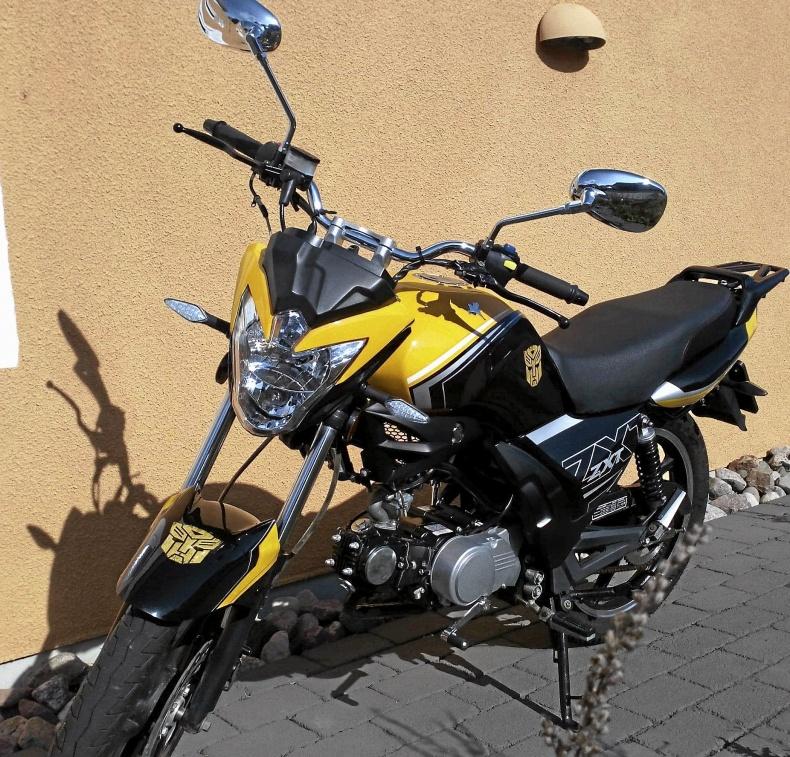 mobile_Mycket fräck Moped Romet ZXT 7- 50 cc