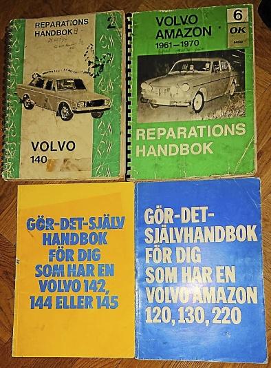 Diverse böcker o dyl