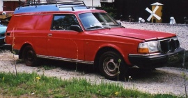 Volvo 242 skåp