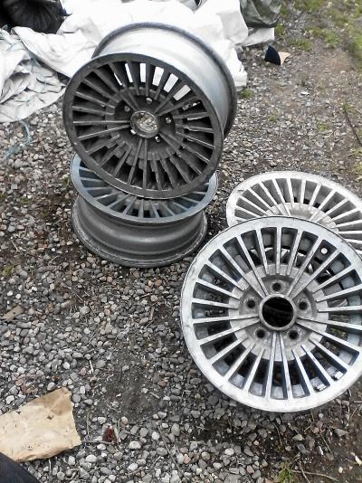 4 st aluminiumfälgar