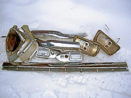 Cadillac -55-56 säljes i delar