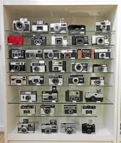 Samlarkameror för film typ 126
