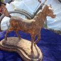 Häst i gjutjärn 28 x 34 cm