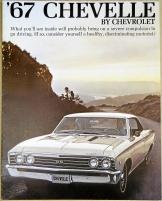 Broschyr Chevrolet Chevelle 1967