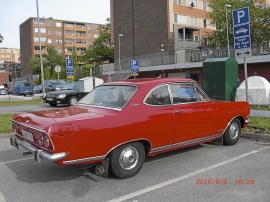 OPEL REKORD COUPE -66