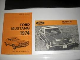 Instruktionsböcker Ford