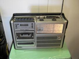 Gammal SABA Kasett-Radio.