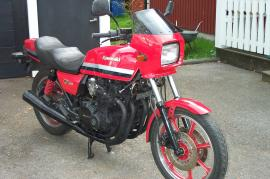 Kawasaki GPz 1100 + reservmotor