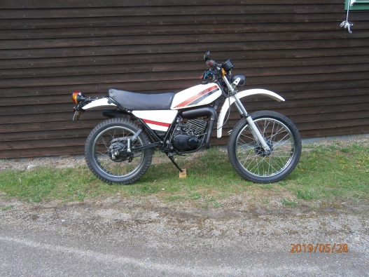 Yamaha DT 125 cc MX enduro