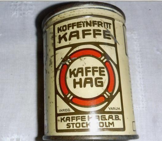 1 st burk Hag Kaffe