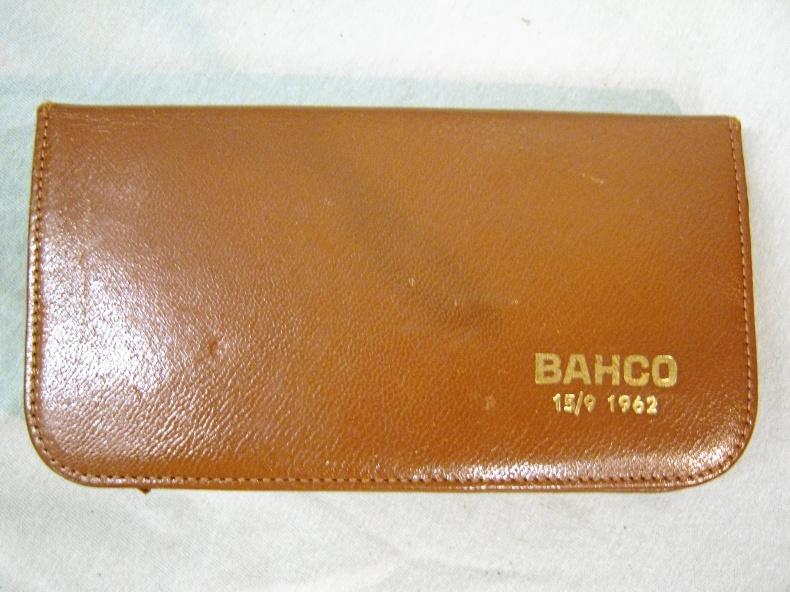 Bahco presentförpackning 15/9 1962.