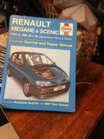 Renault Megane & Scenic verkstadshandbok Haynes