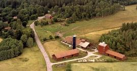 Gård med åker och hagmarker