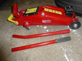 Oanvänd liten garagedomkraft
