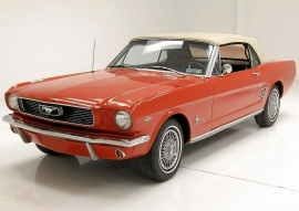 FORD MUSTANG CAB V8