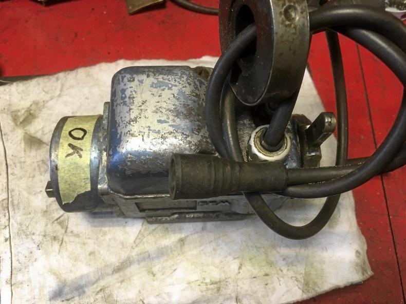 SEM tändmagnet för 2-cyl motor
