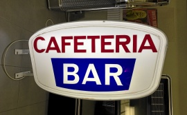 Cafe-skylt