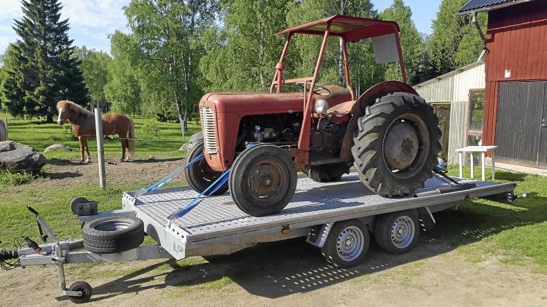 MF 35 diesel
