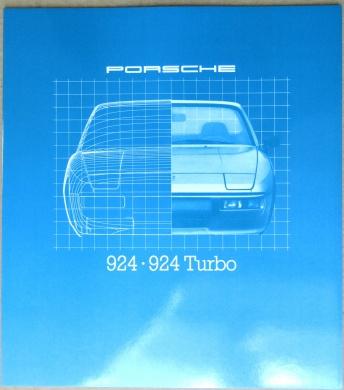 Broschyr Porsche 924, 924 Turbo 1980