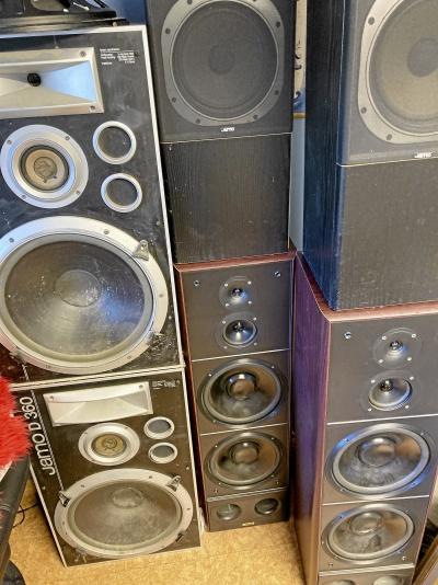 Retro högtalare