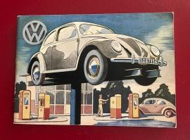 VW broschyr 1945-1950