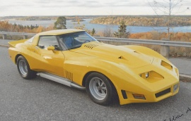 mobile_Chevrolet Corvette Coupe
