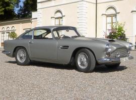 Aston Martin DB 4 serie 2 ch 264R motor 3,7 liter